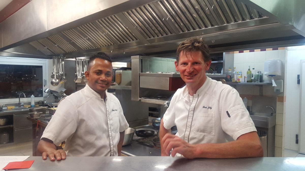 hôtel restaurant bois joly chefs