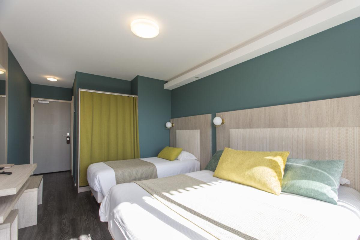 hôtel restaurant Bois Joly chambre 3/4 personnes
