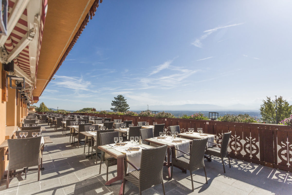 Hôtel Bois joly terrasse genève